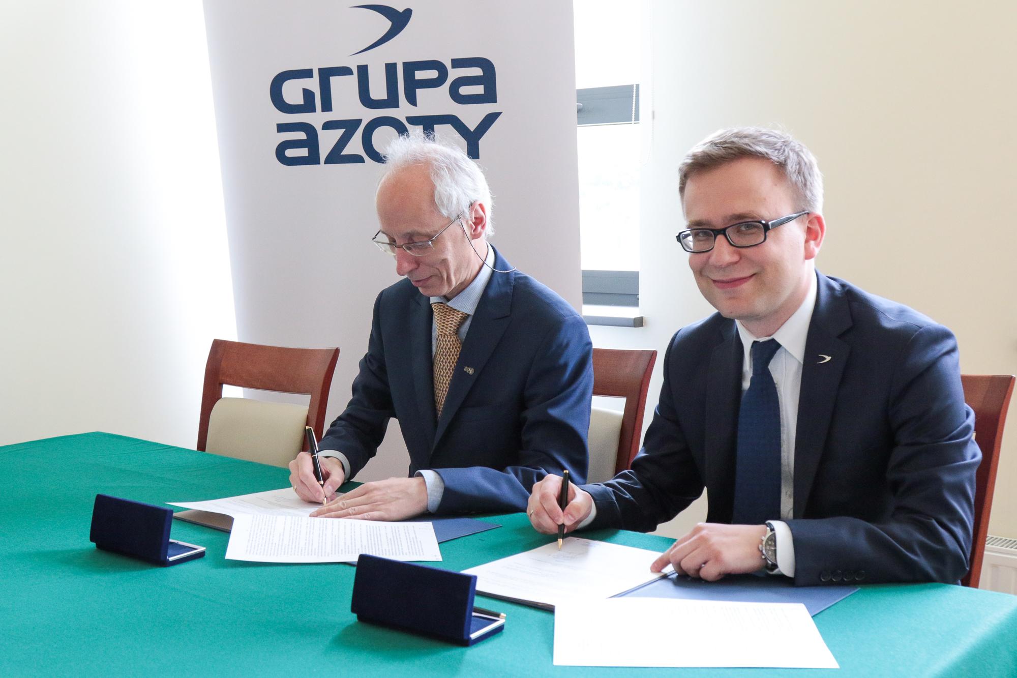 miniatura Wydział Chemii UJ i Grupa Azoty podpisały porozumienie o współpracy