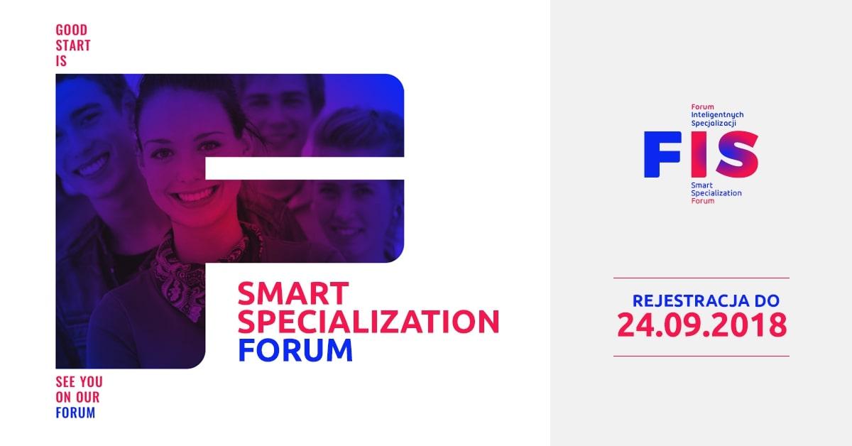 Baner konferencji Smart Specjalization Forum