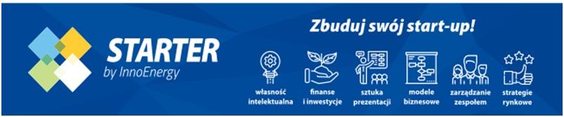 Logo Starter by InnoEnergy Zbuduj swój start-up