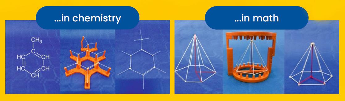 Przykłady wykorzystania zestawów w chemi i matematyce