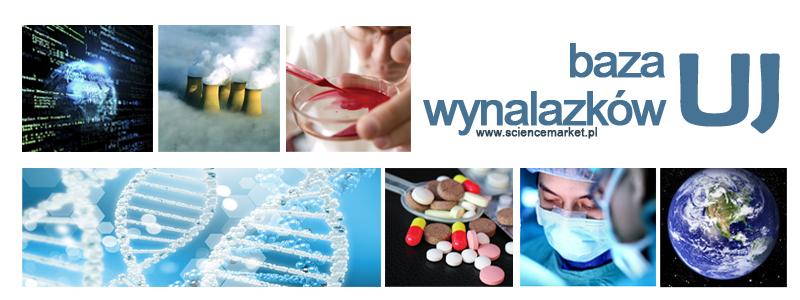 Baner bazy wynalazkow UJ badania pomiary dna lekarstwa